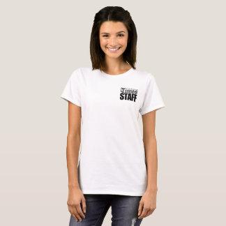 Het Personeel van de Tijden van de Universiteit T Shirt