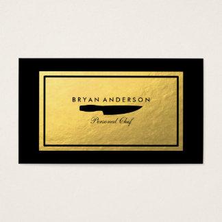 Het persoonlijke Visitekaartje van de Chef-kok Visitekaartjes