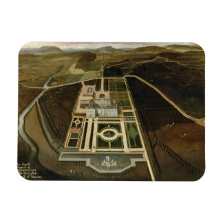 Het Perspectief van het zuiden op Hampton Court, H Magneet