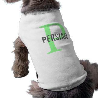 Het Perzische Ontwerp van het Monogram T-shirt