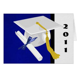 Het Pet van afstuderen en de Kaart van het Diploma