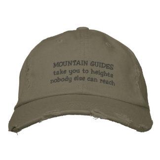 het pet van berggidsen
