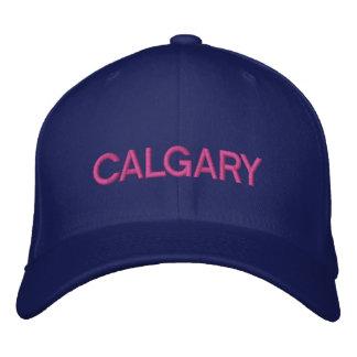 Het Pet van Calgary Geborduurde Pet