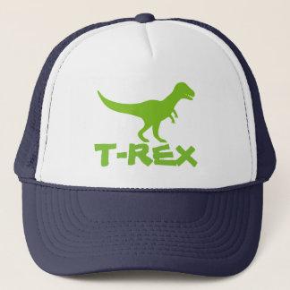 Het pet van de de dinosaurusvrachtwagenchauffeur