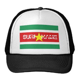 Het pet van de de vlagherinnering van de Suriname