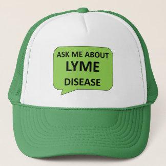 Het pet van de de ziektevoorlichting van Lyme