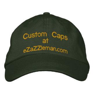 Het Pet van de douane @, eZaZZleman.com Geborduurde Pet