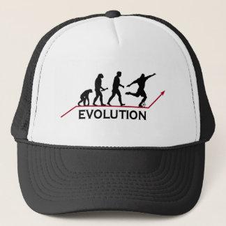 Het pet van de Evolutie van het voetbal