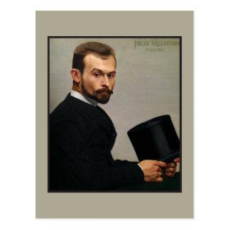 Het Pet van de Holding van Jasinski van Felix door Briefkaart