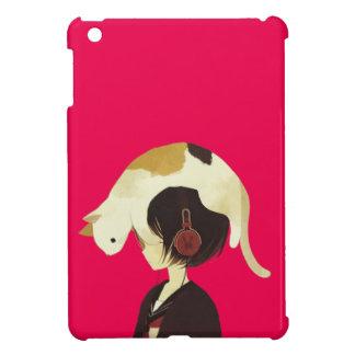 Het PET van de KAT - Kind Anime met Kat iPad Mini Cases