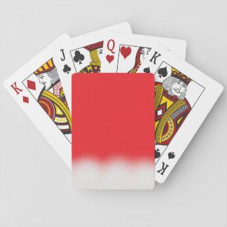Het Pet van de kerstman Pokerkaarten