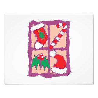Het Pet van de Kerstman van de Maretak van het Fotoafdrukken