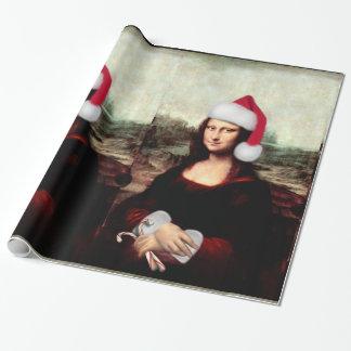 Het Pet van de Kerstman van Kerstmis van Mona Inpakpapier