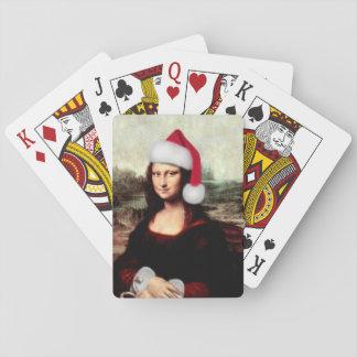 Het Pet van de Kerstman van Kerstmis van Mona Speelkaarten