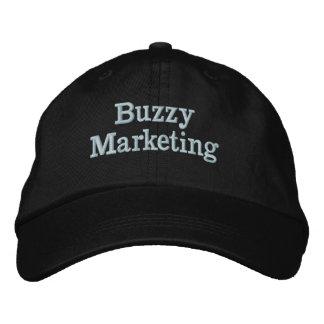 Het Pet van de Marketing van Buzzy Geborduurde Pet