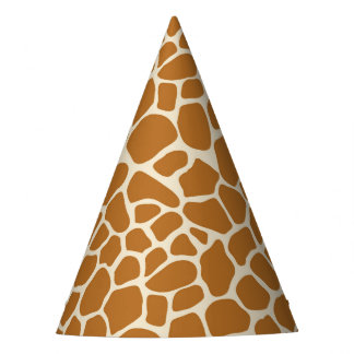 Het Pet van de Partij van de Druk van de giraf Feesthoedjes