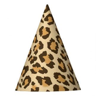 Het Pet van de Partij van de Druk van de luipaard Feesthoedjes