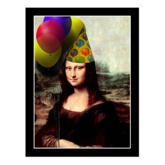 Het Pet van de Partij van de Verjaardag van Mona Briefkaart