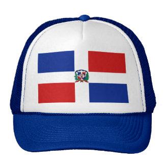 Het Pet van de Vlag van de Dominicaanse Republiek