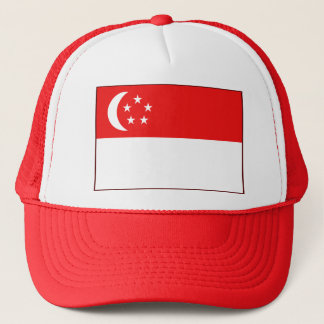 Het Pet van de Vlag van Singapore