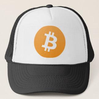 Het Pet van de Vrachtwagenchauffeur van Bitcoin