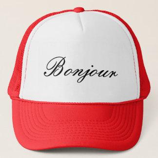 Het Pet van de Vrachtwagenchauffeur van Bonjour