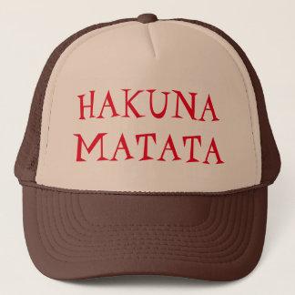 Het Pet van de Vrachtwagenchauffeur van Matata van
