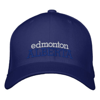 Het Pet van Edmonton, Alberta, Canada Geborduurde Pet