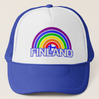 Het pet van Finland van de regenboog