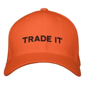 Het pet van Handelaren - Voorraden, Opties, Forex,
