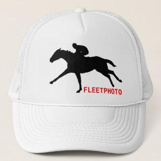 Het Pet van het Logo van Fleetphoto Trucker Pet