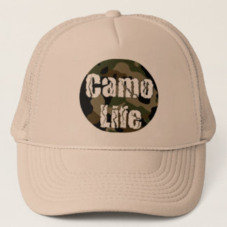 Het Pet van het Logo van het Leven van Camo
