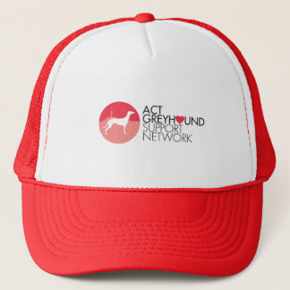 Het Pet van het Logo van het Netwerk van de Steun