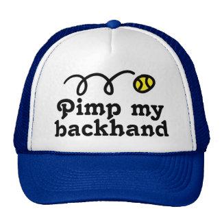 Het pet van het tennis met grappige slogan en