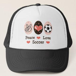 Het Pet van het Voetbal van de Liefde van de vrede