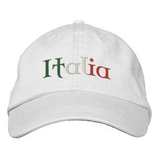 Het pet van Italië van dames voor Calcio het Geborduurde Pet