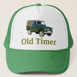 """Het Pet van Land Rover van de """"Oude Tijdopnemer"""""""