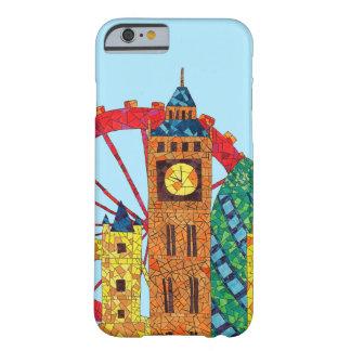 Het Pictogram die van Londen Mozaic bouwen Barely There iPhone 6 Hoesje