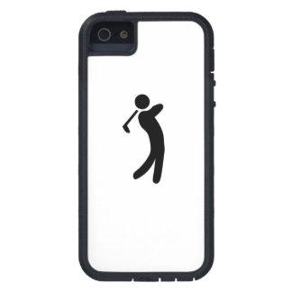 Het Pictogram van de golfspeler Tough Xtreme iPhone 5 Hoesje