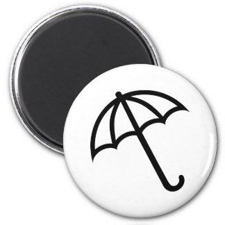 Het pictogram van de paraplu magneet