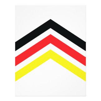 Het pictogram van Flagge van Deutschland Flyer 21,6 X 27,9 Cm