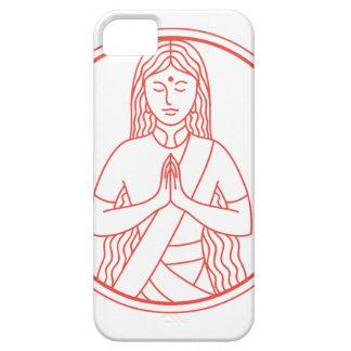 Het Pictogram van Namaste Barely There iPhone 5 Hoesje
