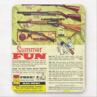 Het Pistool van de Pret van de zomer Muismat