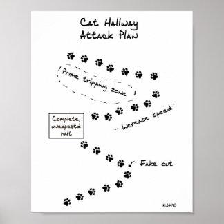 Het Plan van de Aanval van de Gang van de kat Poster