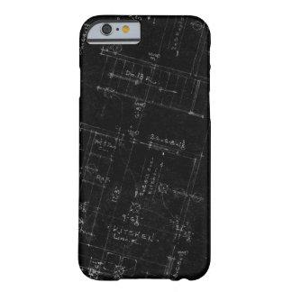 Het Plan van de Vloer van de architect Barely There iPhone 6 Hoesje