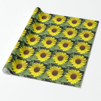 Het Plant van de zonnebloem Inpakpapier