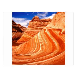 Het Plateau Paria Utah van Colorado van de canion Briefkaart