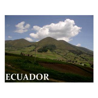 Het platteland van Ecuador Briefkaart