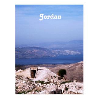 Het Platteland van Jordanië Briefkaart