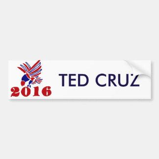 Het Politieke Eagle Art. van Ted Cruz Bumpersticker